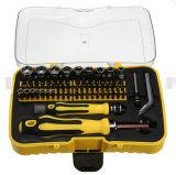 69 en 1 Herramientas de reparación Multi-Bit Kit destornilladores de tornillo