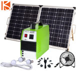 150W - 5000W système d'alimentation solaire portable pour la maison de l'éclairage