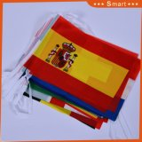 Plusieurs pays de polyester de couleur Drapeaux de chaîne