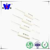 Résistances emballées en céramique 5W de pouvoir de la colle de blessure du fil Rx27-1