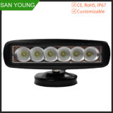 18W luz LED de trabajo Bar Epsitar Precios baratos para tractores de Autos