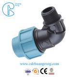 Montaggi del T di compressione del tubo del polipropilene di basso costo
