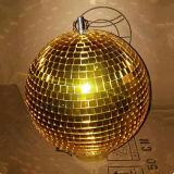 クリスマスの段階党ディスコミラーの球