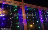 عيد ميلاد المسيح زخرفة خارجيّ [لد] يسقط دلّاة جليديّة أضواء