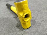 Herramientas de acero del martillo de trineo de la maneta (XL0124-1), durables y buenas del precio de la mano de la construcción