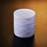 Durchbohrter keramischer Tee-Licht-Kerze-Halter