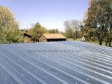 Tôle d'acier galvanisée de plaque métallique enduite de zinc ondulé pour le toit et le mur