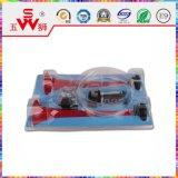 Haut-parleur de véhicule pour le véhicule guidé
