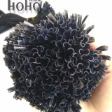 De Golvende Uitbreiding van uitstekende kwaliteit van het Menselijke Haar van Remy van het Uiteinde van U van 12 Duim Zwarte