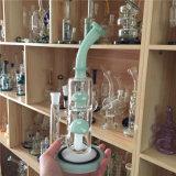 Staaf van Dabrigs Waterpipe van de Impuls van de Waterpijp van het Glas Phonix van de Installatie van de Damp van de Recycleermachine van Klein de Groene Lange Wetenschappelijke Bio