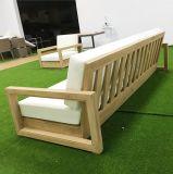 屋外のチークのソファーの家具セット