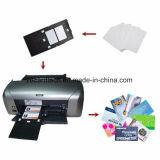 Unbelegte Weiß Belüftung-Tintenstrahl Identifikation-Karte/Tintenstrahl-bedruckbare Plastikkarte