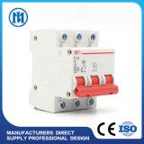 Mini disjoncteur électrique solaire 32 ampère 63 ampère MCB 1000V L7-63 6A 10A 16A 20A 25A 32A 40A 50A 63A de C.C de miniature