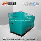 generatore diesel silenzioso elettrico 210kw con l'alternatore senza spazzola del Cummins Engine