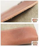 Sac d'épaule à la mode de Crossbody d'usine de sac en cuir de toile d'arrivée neuve (RS6010)
