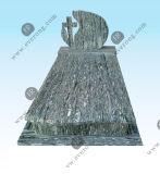 ポーランドの市場のための中国の黒い花こう岩の墓石の墓碑記念碑