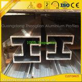 El polvo de encargo cubierto sacó el perfil de aluminio de la barandilla de la protuberancia