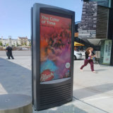 75インチの屋外広告のデジタル表記のタッチ画面LCDの表示
