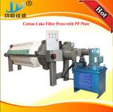 Filtre-presse de gâteau de coton de filtration de mâche d'industrie de bière