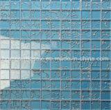 La Chine Fabricant Salle de bains carrelage bleu Dessins mosaïque de verre
