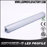 4155 내각 빛을%s 코너 알루미늄 밀어남 LED 단면도