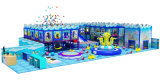 De plastic Apparatuur van de Speelplaats van de Trein van de Kinderen van het Stuk speelgoed Binnen