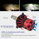 A fábrica de automóveis V6 Super Brilhante Farol com lâmpada LED luzes H4