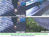 De lange Scherpe Machine van de Laser van Co2 van de Deken van het Kussen van het Tapijt