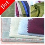 A tela de linho de seda de Tencel para a saia do vestido afrouxa a cortina