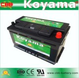 batteria automatica di BACCANO di 60038-Mf 12V100ah per l'automobile europea