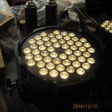 La PARITÉ blanche peut des lumières d'étape de théâtre de DEL 54X3watt