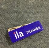 磁石(XD-013124)が付いている金属の印刷の異なった名前の名前入りの記章