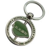Kundenspezifischer Qualitäts-preiswerte Decklack-Pferden-Firmenzeichen-Hochschulschlüsselring
