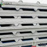 Pannelli a sandwich d'acciaio della parete/tetto del metallo dell'isolamento della gomma piuma di ENV