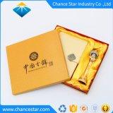 Impreso personalizado Base y tapa de papel cartón tipo caja de té