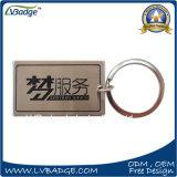 Anello chiave di promozione del ricordo della stampa del metallo su ordinazione del regalo