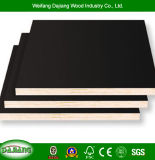 Poplar Commercial Plywood with Black/Brown film Faced for Building Framework