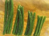 Gefrorene grüne Bohne