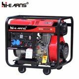 Tipo de frame aberto refrigerado a ar começo elétrico do único gerador Diesel do cilindro (DG8000E)