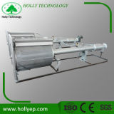 Tela fina do cilindro do tratamento de água de esgoto