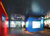 Plafond suspendu au plafond de tube de profil de grand dos de cloison en aluminium de plafond