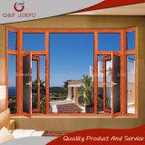 シンプルな設計のカリフォルニア顧客のためのアルミニウム二重ガラスの開き窓のWindows