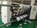 Le papier à cigarette de refendage à haute vitesse automatique de la machine avec l'arbre de patinage