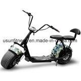 Harley様式のBluetoothの安い電気モーターバイク60V電池のペダルのスクーター