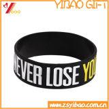 Wristband su ordinazione del silicone di marchio per i regali di promozione