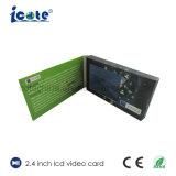 Новейшая конструкция 2,4-дюймовый ЖК-Видео брошюра для платы видеоадаптера Exhibation