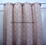 2018 Venta caliente tejido Cortina Jacquard de alta calidad de la habitación del hotel la decoración de la ventana