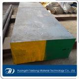 Placa de acero forjada del acero de herramienta 1.2436/D6/Cr12W