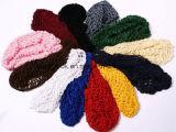 Chapéu do sono da jóia da baixada do cabelo do Crochet dos acessórios do cabelo do tampão do trabalho