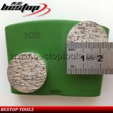 Diamante de pulido de Seg HTC del doble del surtidor de Bestop del bloque redondo del metal